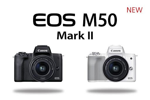 A Canon piacra dobja az EOS M50 Mark II-t