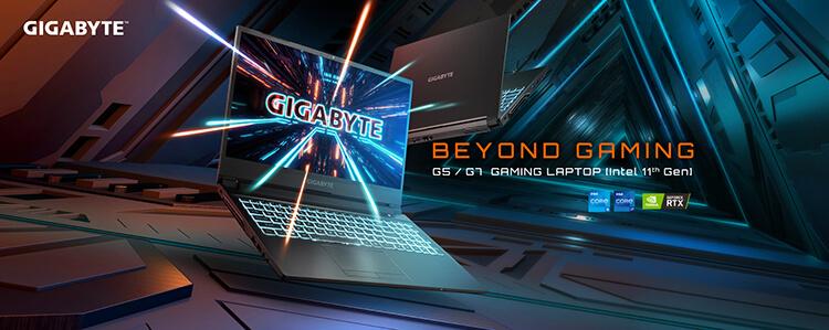 A GIGABYTE Bemutatja az Új GeForce RTX 3050 G5/G7 Gaming Laptopokat